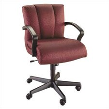 <strong>High Point Furniture</strong> Mid-Back Executive Chair with Arms