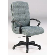 <strong>High Point Furniture</strong> High-Back Executive Chair with Arms