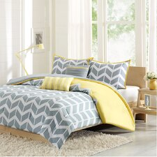 Nadia 4 Piece Duvet Cover Set