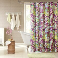 Kayla Polyester Shower Curtain