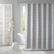 Lexie Polyester Shower Curtain
