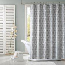 Lexie Polyester Shower Curtain