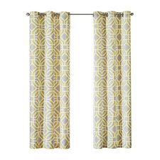Maci Single Window Pleated Curtain Panel