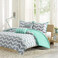 Nadia 5 Piece Duvet Cover Set