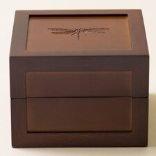 Dragonfly Motif Medium Jewelry Box