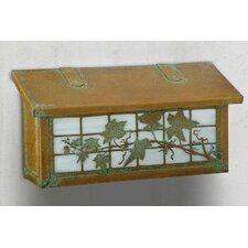 English Ivy Horizontal Wall Mounted Mailbox