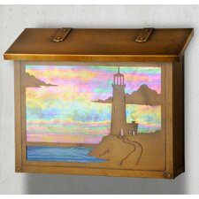 Lighthouse Wall Mounted Mailbox