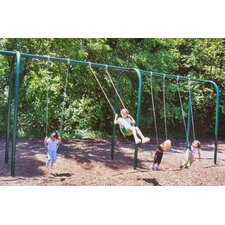 4-Place Arched Swing Set