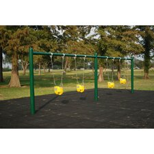 Single-Post Swing Set