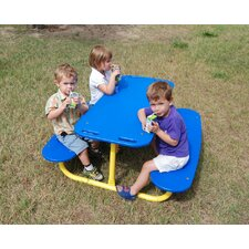 <strong>Kidstuff Playsystems, Inc.</strong> Kids Rectangle Tot Picnic Table
