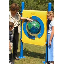 Freestanding World Globe Panel