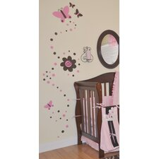 Sweet Butterfly Vinyl Wall Decal
