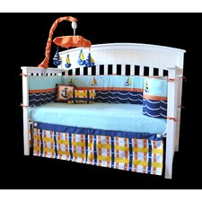 Baby Sailor 10 Piece Boutique Nautical Sailboat Crib Bedding Set