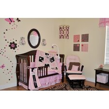 Sweet Butterfly 9 Piece Boutique Crib Bedding Set