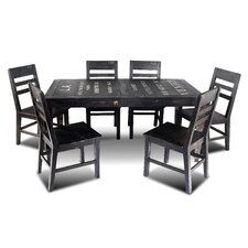 City 7 Piece Dining Set