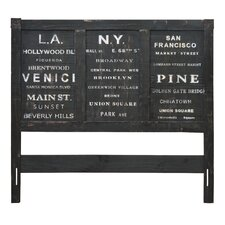 City Queen Panel Headboard