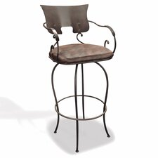 "Jenna 24"" Swivel Bar Stool"