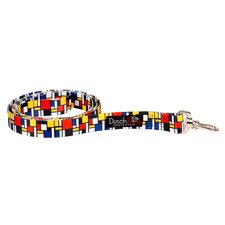Mondrian Inspiration Fashion Dog Leash