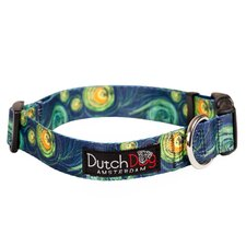 <strong>Dutch Dog</strong> Van Gogh Inspiration Fashion Dog Collar