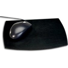 <strong>Dacasso</strong> 1000 Series Classic Leather Mouse Pad in Black