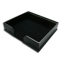 1000 Series Classic Leather Conference Pad Holder in Black