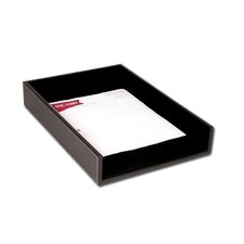 3200 Series Leather Front-Load Legal Tray in Rustic Black