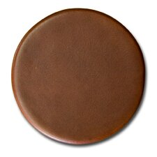 3200 Series Top-Grain Leather Coaster in Rustic Brown