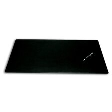 <strong>Dacasso</strong> 1000 Series Classic Leather 30 x 19 Desk Mat without Rails in Black