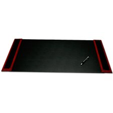 <strong>Dacasso</strong> 8000 Series Rosewood and Leather 34 x 20 Desk Pad