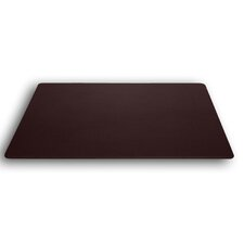 1000 Series Classic Leather 38 x 24 Desk Mat without Rails in Chocolate Brown