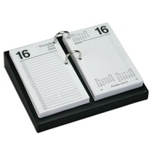 Leather Desktop Calendar Holder