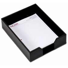 Bonded Leather Letter Tray