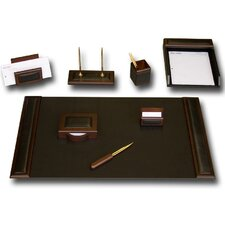 <strong>Dacasso</strong> Leather 8-Piece Desk Set