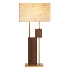<strong>Ziqi Home</strong> Wood Wonder Raised Table Lamp