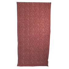 Block Sprigs Curtain Single Panel