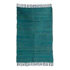 Turquoise Traditional Rug