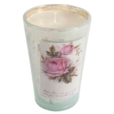 Victorian Filled Glass Votive