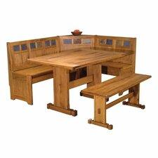 Sedona Corner Nook 3 Piece Dining Set