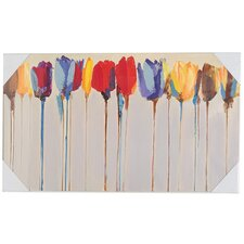 Tulip Trees Canvas Art