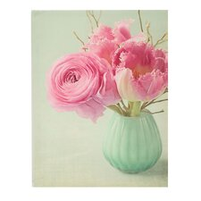 Fleur in a Vase Canvas Art