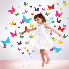 Flutterflies2 Wall Stickers