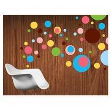 Dottilicious Removable Wall Decals 80 Piece Set