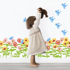 Nature Blossoms Wall Decal 72 Piece Set