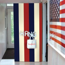 Stripe Wallpaper in Americana