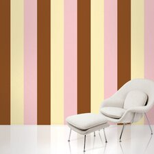 Stripe Wallpaper in Neapolitan
