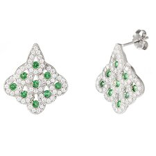 Chandelier Cubic Zirconia Drop Earrings