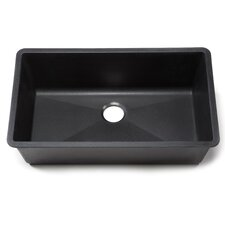 "Blanco Silgranit 32"" x 19"" 1.8 Bowl Kitchen Sink"