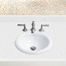 Ceramic Bowl Bathroom Sink