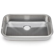 "Blanco Stellar 28"" x 18"" Single Bowl Kitchen Sink"