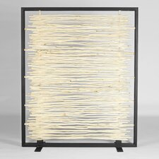Naturals Bleached Driftwood Framed Screen
